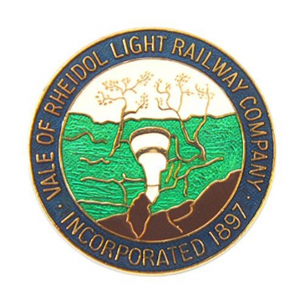 Vale of Rheidol Coat of Arms Collectors Badge